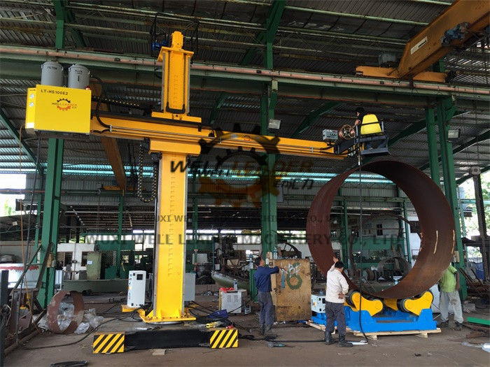 High Performance Column And Boom Welding Manipulators For Wind Tower