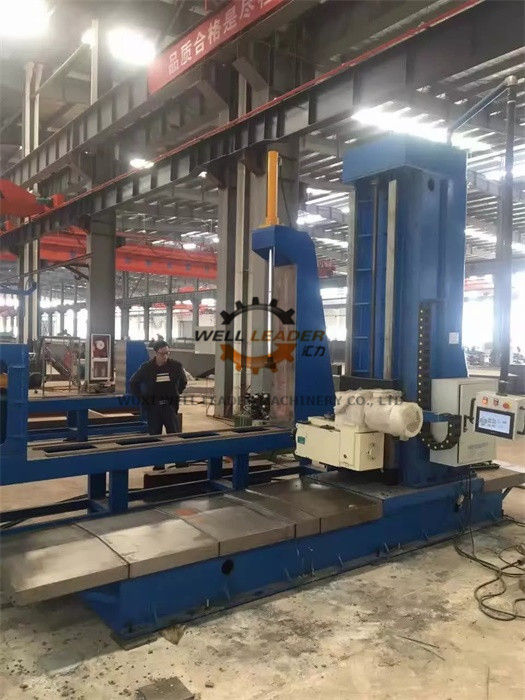 7.5 KW CNC End Face Profile Milling Machine 1500x1500mm Job Profile