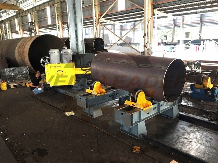 Wind Tower Pipe Welding Turning Rolls Hydraulic for Rotator Cylinder Driving Tack Welding