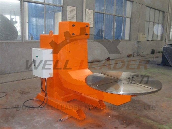 L Rotary Welding Positioner 3 Ton Turning Capacity Servo Motor Robot Three Axis